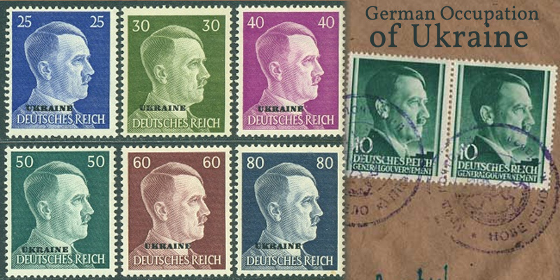 German Occupation Stamps