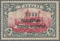 Auktionshaus Christoph Gärtner GmbH & Co. KG Collection Peter Zgonc TOGO - British & French Occupation