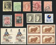Guillermo Jalil - Philatino Auction #170406-  ARGENTINA: great auction with very interesting lots
