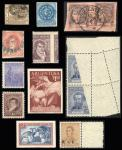 Guillermo Jalil - Philatino Auction #1803-  ARGENTINA:
