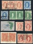 Guillermo Jalil - Philatino Auction #1806-  ARGENTINA: Interesting selection of Rivadavias