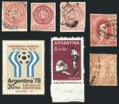 Guillermo Jalil - Philatino Auction #184 - ARGENTINA: