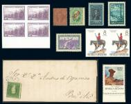 Guillermo Jalil - Philatino Auction # 1904 ARGENTINA: small but very attractive auction