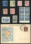 Guillermo Jalil - Philatino Auction #207-  ARGENTINA: