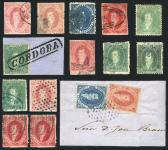 Guillermo Jalil - Philatino Auction #217 - ARGENTINA: fine selection of Rivadavias with interesting cancels
