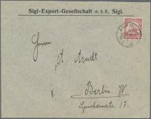Auktionshaus Christoph Gärtner GmbH & Co. KG Sale #49 Collections Overseas, Thematics, Europe, Germany/Estates