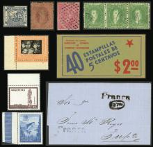 Guillermo Jalil - Philatino Auction # 2029 ARGENTINA: Selection of good lots