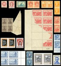 Guillermo Jalil - Philatino Auction # 2115 ARGENTINA: Special May auction - VARIETIES!!