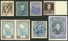 Guillermo Jalil - Philatino Auction # 2122 ARGENTINA: