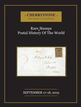 Cherrystone Auctions Rare Stamps & Postal History of the World