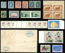 Guillermo Jalil - Philatino Auction # 1914 ARGENTINA: small but very attractive auction