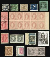 Guillermo Jalil - Philatino Auction #1941 ARGENTINA: Special November auction