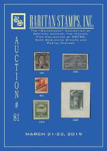 Raritan Stamps Inc. Live Bidding Auction #81