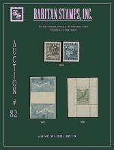 Raritan Stamps Inc. Live Bidding Auction #82