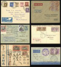 Guillermo Jalil - Philatino Auction #1946 WORLDWIDE POSTAL HISTORY, COVERS AND CARDS
