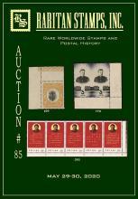 Raritan Stamps Inc. Live Bidding Auction #85