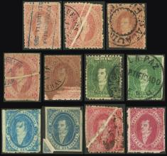 Guillermo Jalil - Philatino Auction #1944 ARGENTINA: Splendid selection of