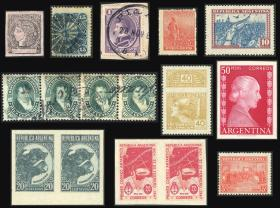 Guillermo Jalil - Philatino Auction #1945 ARGENTINA: