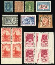 Guillermo Jalil - Philatino Auction # 2004 ARGENTINA: Special January auction, 101 RARE LOTS 101!