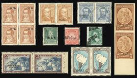 Guillermo Jalil - Philatino Auction # 2011 ARGENTINA - OFFICIAL STAMPS, selection of good lots!