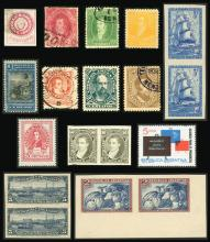 Guillermo Jalil - Philatino Auction # 2038 ARGENTINA: General auction with very low starts!