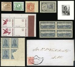 Guillermo Jalil - Philatino Auction # 2042 ARGENTINA: Selection of good lots!