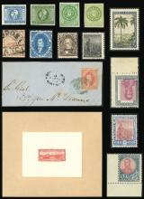 Guillermo Jalil - Philatino Auction # 2043 ARGENTINA: small but very attractive auction