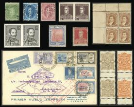 Guillermo Jalil - Philatino Auction # 2045 ARGENTINA: Special November auction