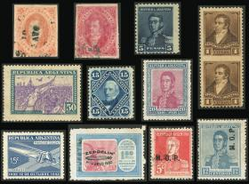 Guillermo Jalil - Philatino Auction # 2046 ARGENTINA: General auction with very interesting material