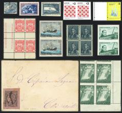 Guillermo Jalil - Philatino Auction # 2052 ARGENTINA: Pre-Christmas mini auction