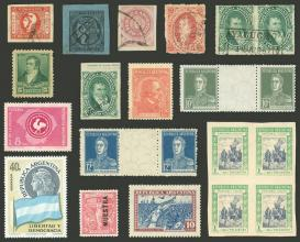 Guillermo Jalil - Philatino Auction # 2130 ARGENTINA: