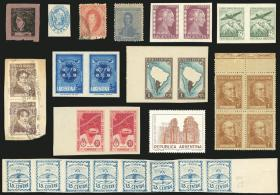 Guillermo Jalil - Philatino Auction # 2138 ARGENTINA: