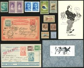 Guillermo Jalil - Philatino Auction # 2141 WORLDWIDE + ARGENTINA: General November auction