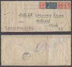 Antonio Torres Auction #44: Worldwide Winter Postal History