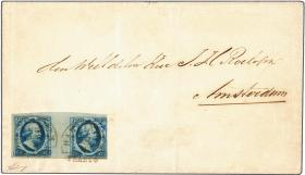 Corinphila veilingen 224th Auction - Title: Netherlands - 'Bright and Beautiful' Postal History 1852-1867 (part 1) - The Luis Alemany Indarte Collection