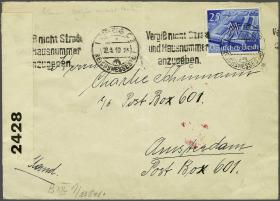 Corinphila Veilingen Auction 235: Postal History WW2 - The Stefan Drukker Collection