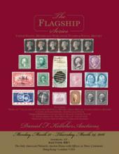 Daniel F. Kelleher Auctions Auction #681 - Flagship US, British and Worldwide Stamps and Postal History
