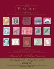 Daniel F. Kelleher Auctions Auction #701 - Flagship US, British and Worldwide Stamps and Postal History