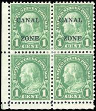 Daniel F. Kelleher Auctions Auction #704 - Canal Zone