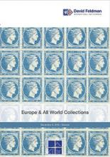 David Feldman S.A. Europe & All World Collections   Autumn Auction Series day 4