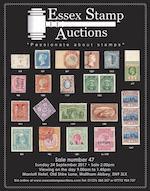 Essex Stamp Auctions Worldwide Public Auction No 47