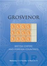 Grosvenor Auctions Auction of British Empire and Foreign Countries Postage Stamps and Postal History