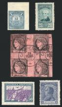 Guillermo Jalil - Philatino Auction #1815-  ARGENTINA: Lots from an old collection, stamps of excellent quality!