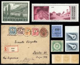 Guillermo Jalil - Philatino Auction #1822-  WORLDWIDE + ARGENTINA: Early Winter General Auction!