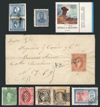 Guillermo Jalil - Philatino Auction #1824 ARGENTINA: Winter selection, very good lots of all periods!