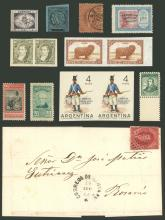 Guillermo Jalil - Philatino  Auction #1831  ARGENTINA: