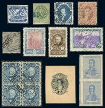 Guillermo Jalil - Philatino  Auction #1836 ARGENTINA: Selection of good stamps!