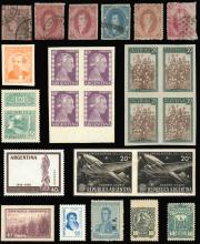 Guillermo Jalil - Philatino  Auction #1837 ARGENTINA: great auction with very interesting lots, low starts!