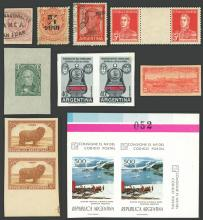 Guillermo Jalil - Philatino  Auction #1903 ARGENTINA: 'Budget' auction with lots of interesting items at very low starts!