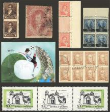 Guillermo Jalil - Philatino Auction # 1912 ARGENTINA: Small sale with rare material very scarce in the market!